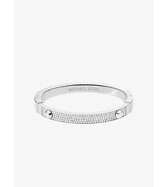 Astor Pavé-Embellished Silver-Tone Bracelet