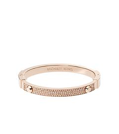 Astor Pavé-Embellished Rose Gold-Tone Bracelet