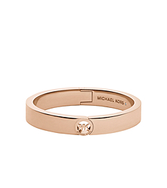 Fulton Rose Gold-Tone Buckle Bangle
