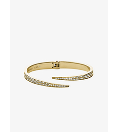Matchstick Pavé-Embellished Gold-Tone Cuff