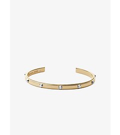 Astor Studded Gold-Tone Cuff