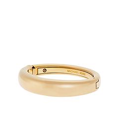 Gold-Tone Hinge Bangle by Michael Kors