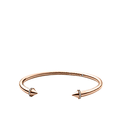 Arrow Pavé-Embellished Rose Gold-Tone Cuff