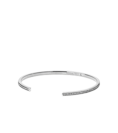 Pavé-Embellished Silver-Tone Cuff
