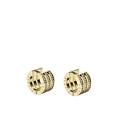 Pavé-Embellished Gold-Tone Bar Earrings