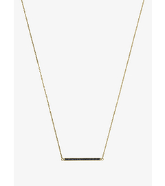 Gold-Tone Pendant Necklace