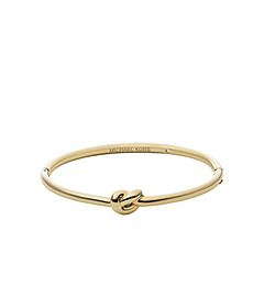 Gold-Tone Knot Bracelet