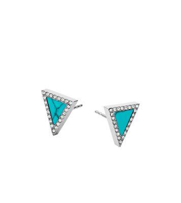 Triangle Stud Earrings by Michael Kors