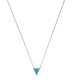 Pavé Triangle Necklace by Michael Kors