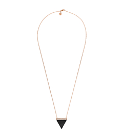 Triangle Pendant Necklace by Michael Kors