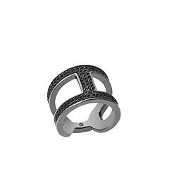 Pavé Black-Tone Maritime Link Ring by Michael Kors