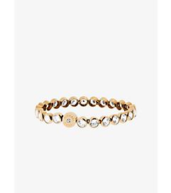 Cubic Zirconia Gold-Tone Tennis Bracelet by Michael Kors