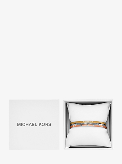 Tri-Stack Bangle Set  by Michael Kors