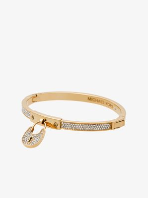 Padlock Gold-Tone Bracelet by Michael Kors