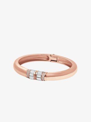 Baguette Rose Gold-Tone Bracelet by Michael Kors