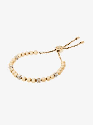 Gold-Tone Slider Bracelet by Michael Kors