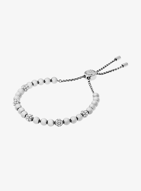 Silver-Tone Slider Bracelet