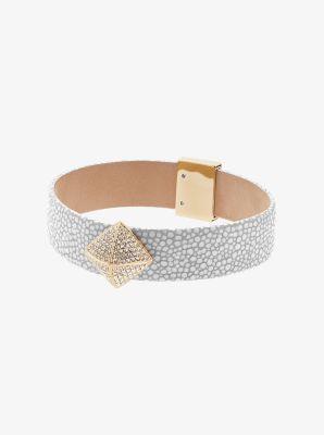 Gold-Tone Stingray Bracelet by Michael Kors