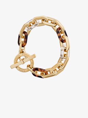 Gold-Tone Toggle Bracelet by Michael Kors