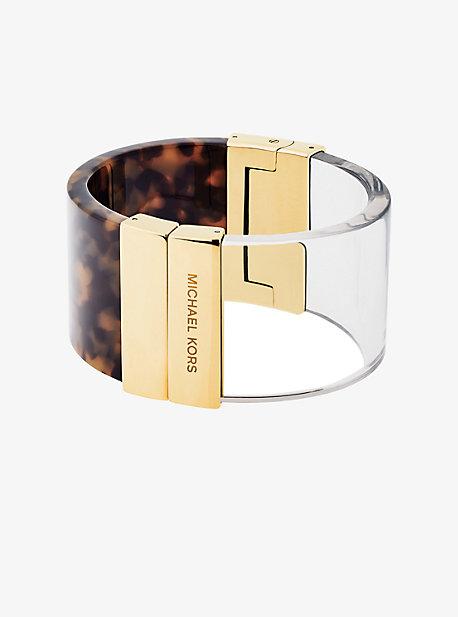 Gold-Tone Color-Block Cuff