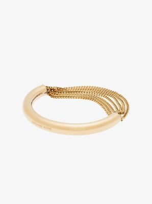 Gold-Tone Draped-Chain Bracelet by Michael Kors