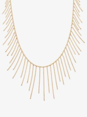 Gold-Tone Chain Statement Necklace by Michael Kors