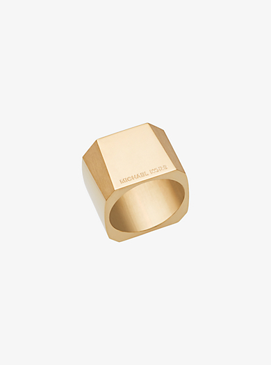 Gold-Tone Ring by Michael Kors