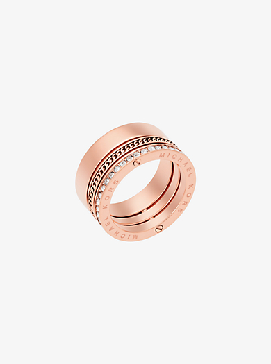 rings by michael kors from eternity rings to rose gold to silver tone more. Black Bedroom Furniture Sets. Home Design Ideas