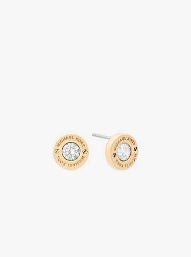Gold-Tone Stud Earrings by Michael Kors