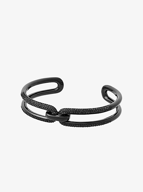 Black-Tone Chain-Link Cuff