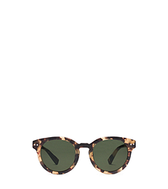 Asher Round-Frame Acetate Sunglasses