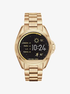 Bradshaw Gold-Tone Smartwatch by Michael Kors