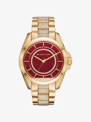 Bradshaw Gold-Tone Smartwatch by Michael Kors