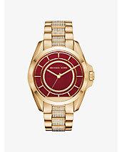 Michael Kors Access Bradshaw Gold-Tone Smartwatch