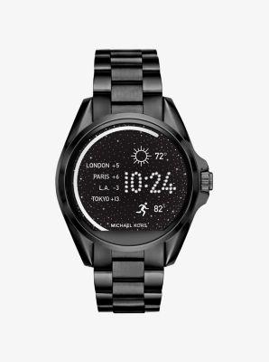 Bradshaw Black-Tone Smartwatch by Michael Kors