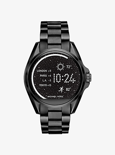 Smartwatch Bradshaw in Schwarz by Michael Kors