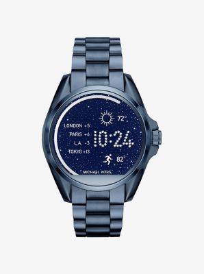 Michael Kors Access Bradshaw Navy-Tone Smartwatch by Michael Kors
