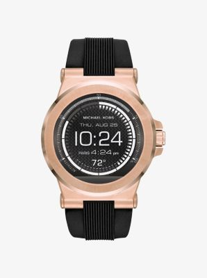Michael Kors Access Dylan Silicone Smartwatch by Michael Kors