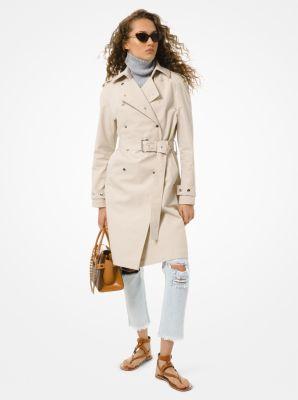 마이클 마이클 코어스 코튼 트윌 트렌치 코트 - 2 컬러 Michael Michael Kors Cotton Twill Trench Coat