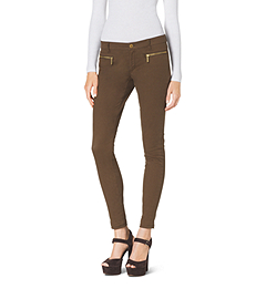 Stretch-Cotton Skinny Jeans