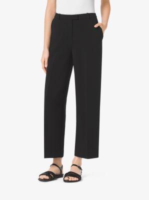 Cropped Wide-Leg Pants by Michael Kors