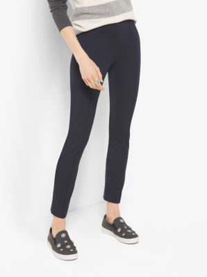 Cropped Twill Trousers by Michael Kors