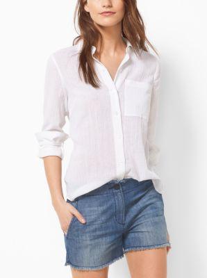 Cotton Shirt by Michael Kors
