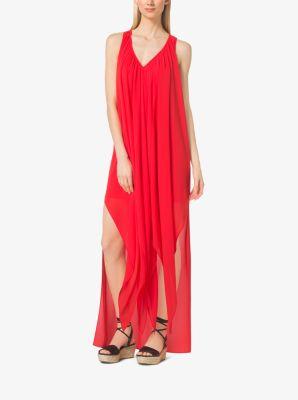 Ruffled Caftan Dress by Michael Kors