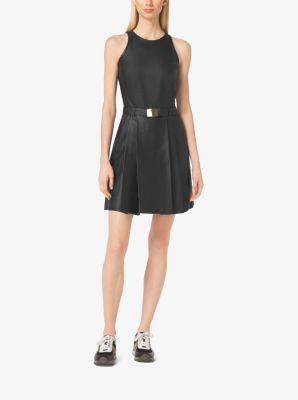 Perforated Belted Dress by Michael Kors
