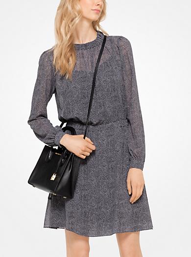 Kleid mit Stachelrochen-Muster by Michael Kors
