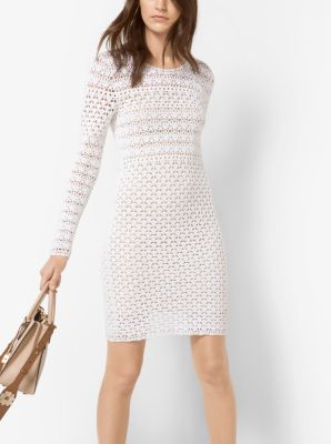 Hand-Crocheted Cotton Dress by Michael Kors