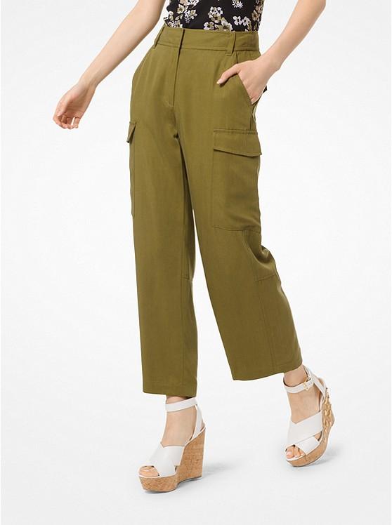 Cropped Cargo Pants | Michael Kors