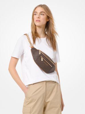 마이클 마이클 코어스 반팔티 Michael Michael Kors Cotton-Jersey T-Shirt,WHITE