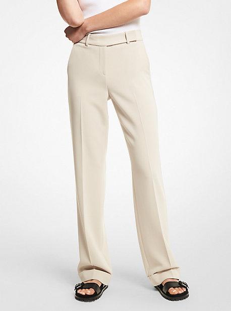 MK Pantalon en crêpe - DUNE(NATUREL) - Michael Kors
